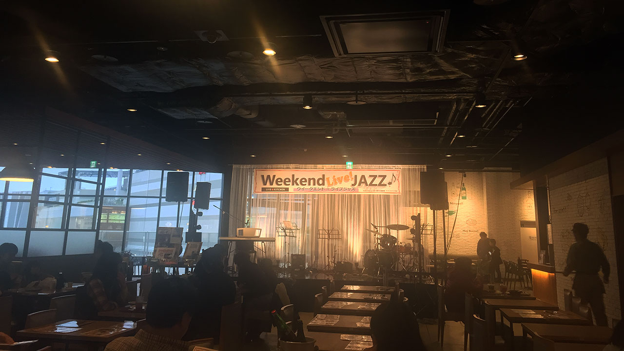 イオンモール_weekend_live_jazz