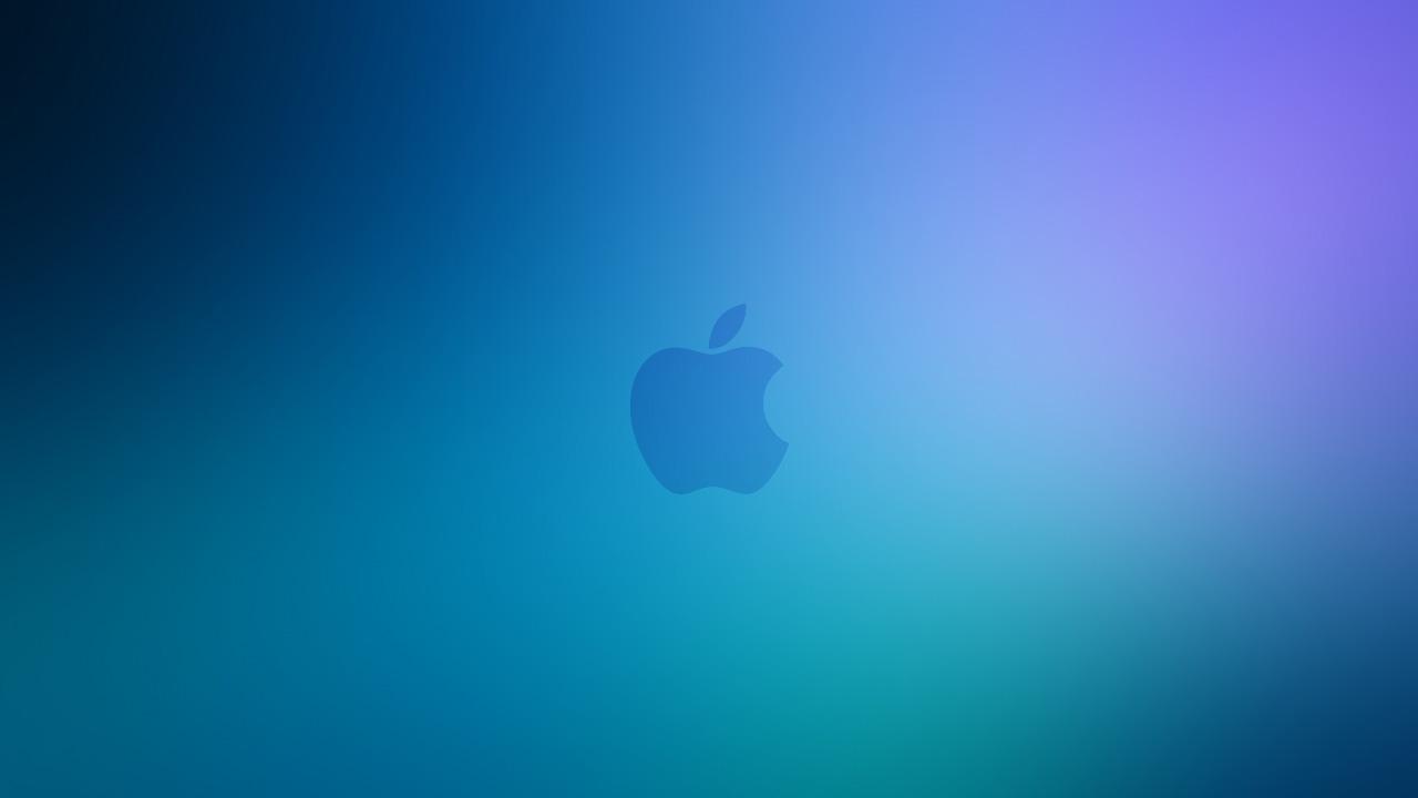 アップル壁紙とロゴ