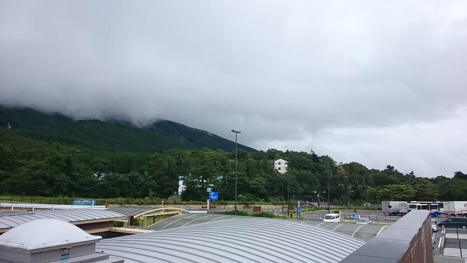 道の駅須走から見た風景