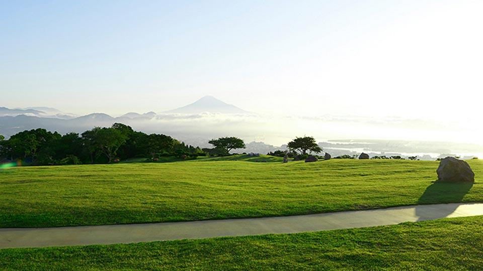 静岡日本平ホテルからの風景