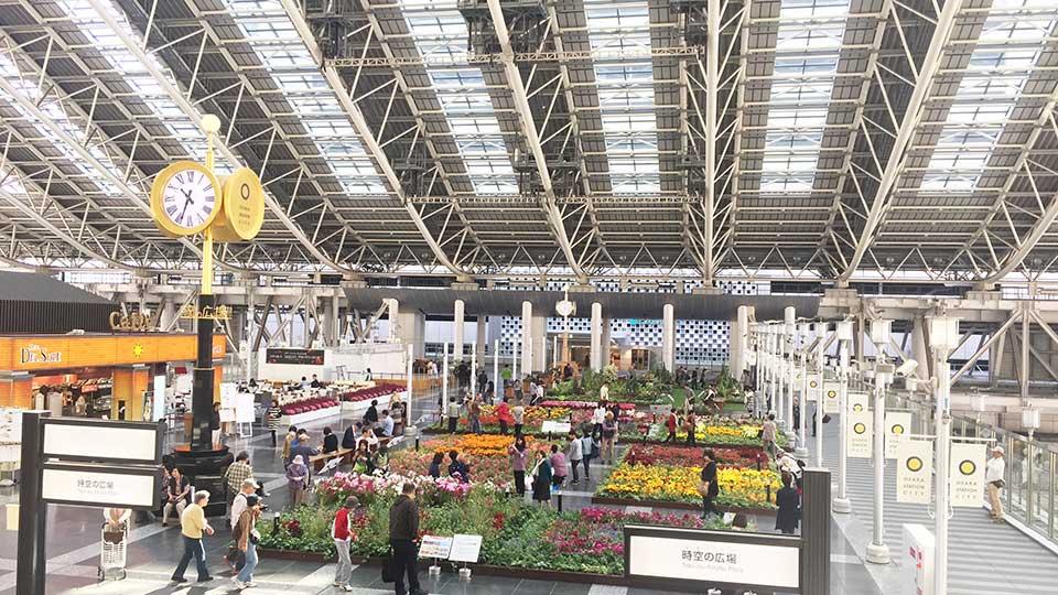 大阪ステーションシティエスカレーター