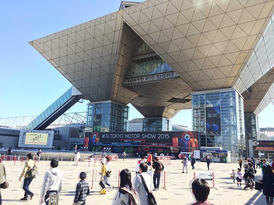 2015東京モーターショー入口