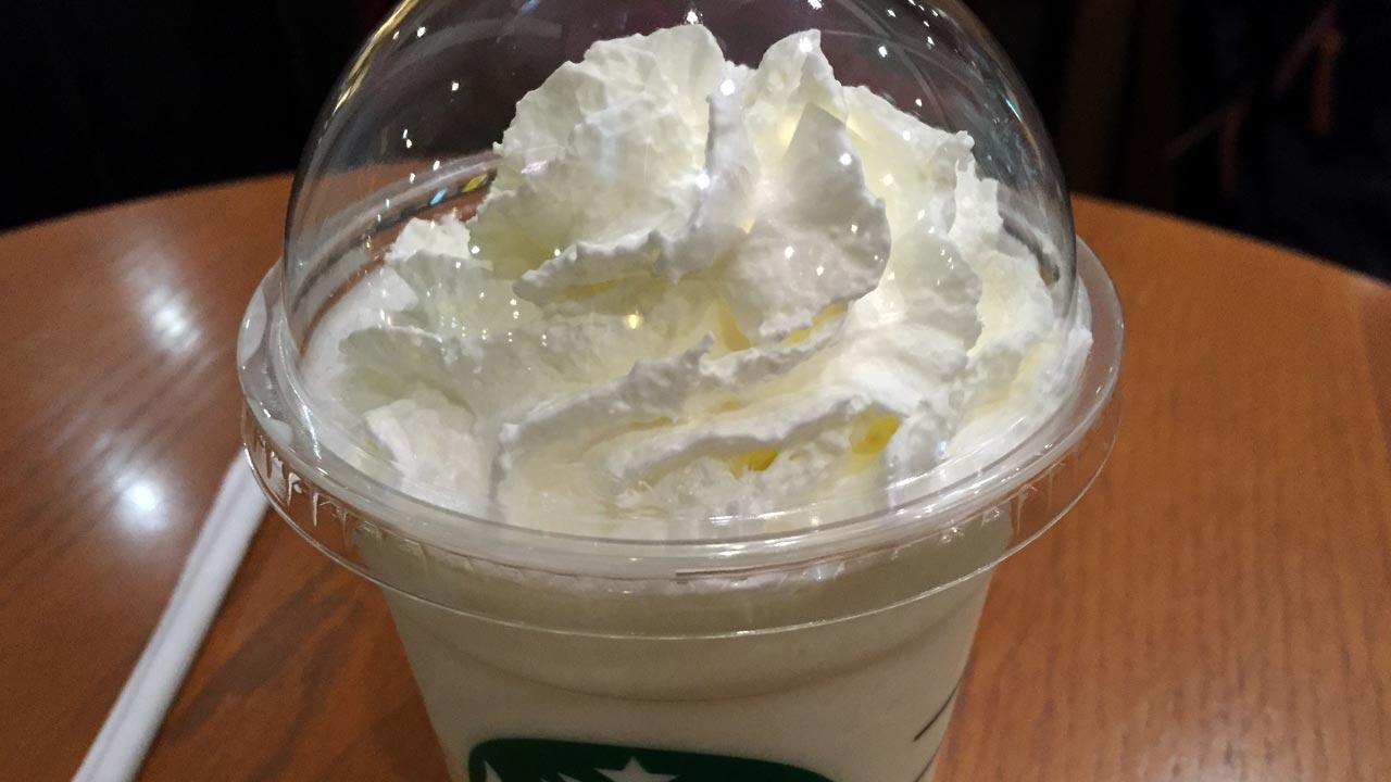 Starbucksバニラクリームフラペチーノ