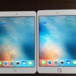 iPad mini 4(セルラー版simフリー128GB)とiPad mini 2(Wi-Fi版32GB)をじっくり観察してみることにしました