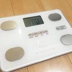 体重が気になりだしたので、コストパフォーマンスの高い体組成計TANITA製FitScan(FS-102)を購入しました