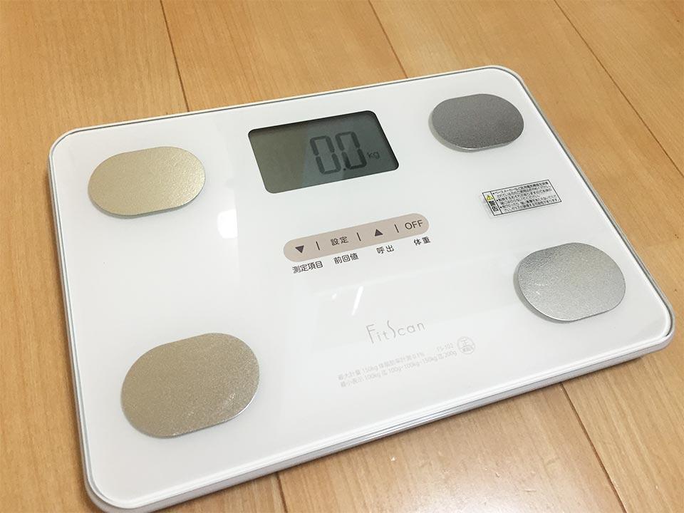 TANITA製FitScanFS-102-WH