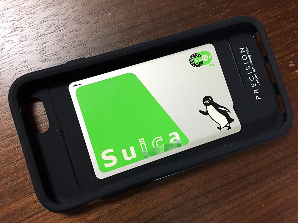 PRECISION Hybrid Case iPhone 6ケースとSuica