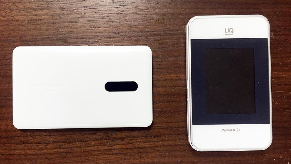 WiMAX2+HWD15ファーウェイ製HWD15とNAD11