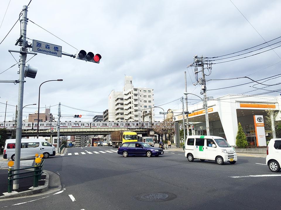東京都墨田区源森橋げんもりばし