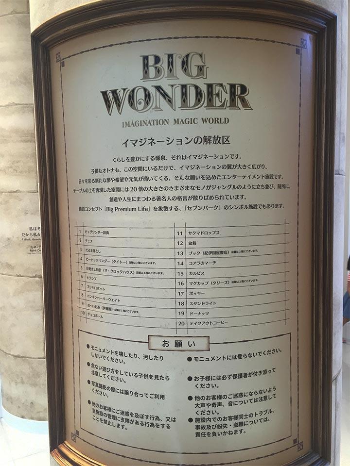 セブンパークアリオ柏BIG WONDER