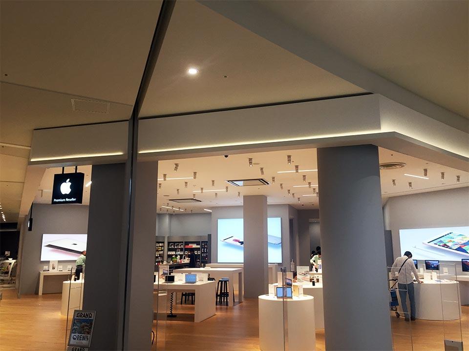 セブンパークアリオ柏アップル専門店「B-PARK」