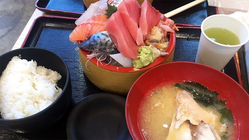セブンパークアリオ柏タカマル鮮魚店タカマル定食