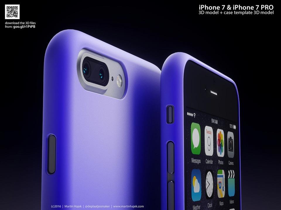 iPhone7,iPhone7 Proコンセプト画像Martin Hajek