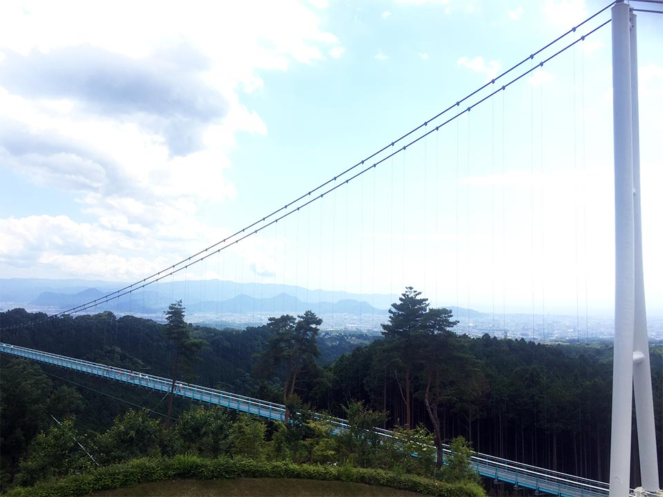 三島大吊橋MISHIMA SKYWALK 400m