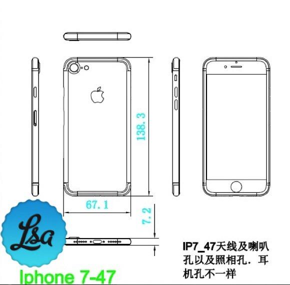 iPhone7サイズ