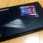 Lenovo Yoga Tablet 2 with WINDOWS(1051F)を購入・設定・トラブルについて残しておきます