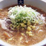 東京は江戸川区船堀にあります、味噌ラーメン「大島」に行ってきました
