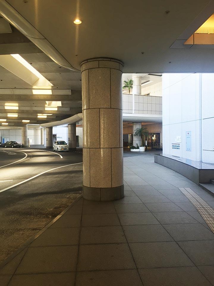 ヨコハマ グランド インターコンチネンタルホテル玄関口
