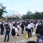 いまだかつて、こんなに錦糸公園が賑わったことがあっただろうか