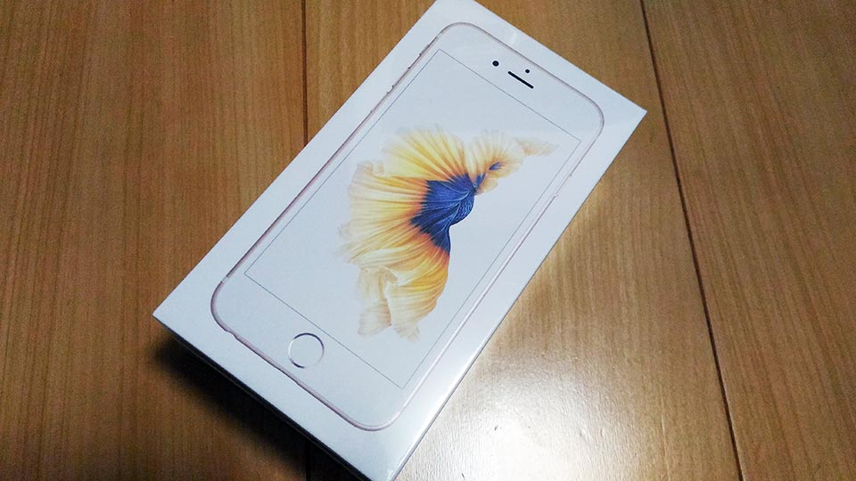 iPhone 6S ケース箱