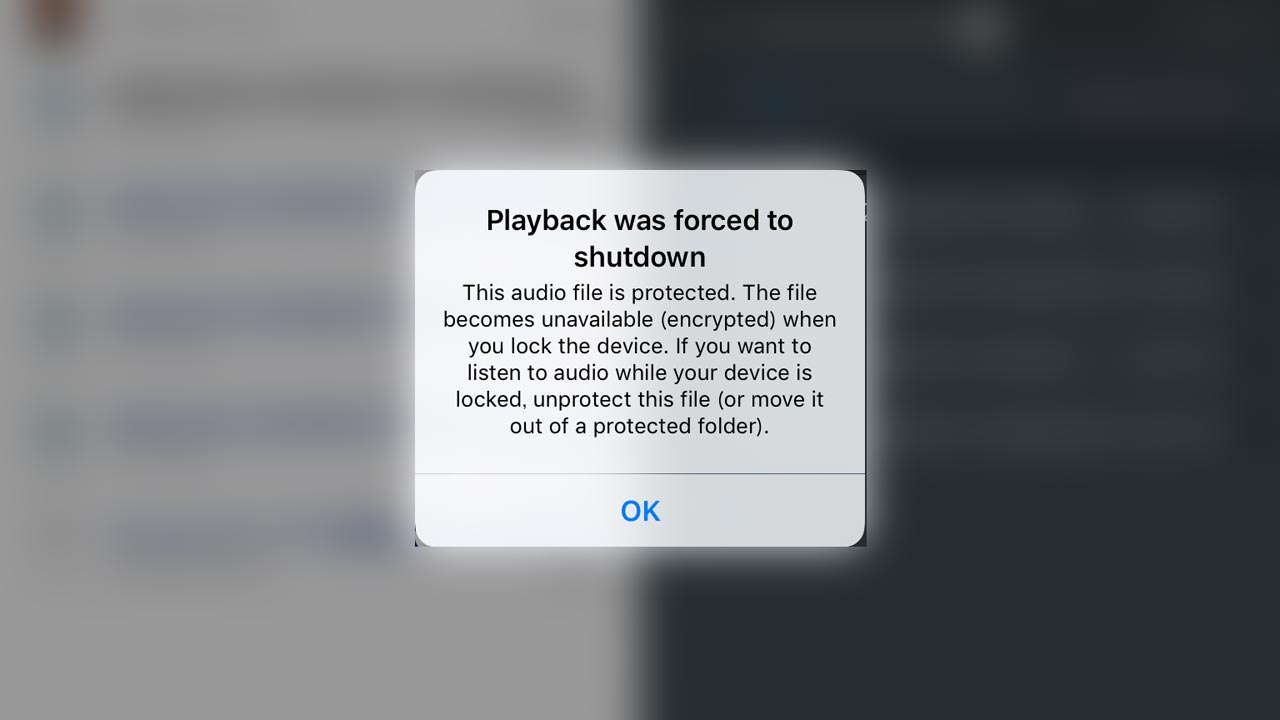 iOS GoodReader警告画面