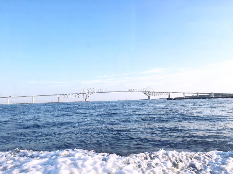 近景_東京水辺ライン東京湾ゲートブリッジ