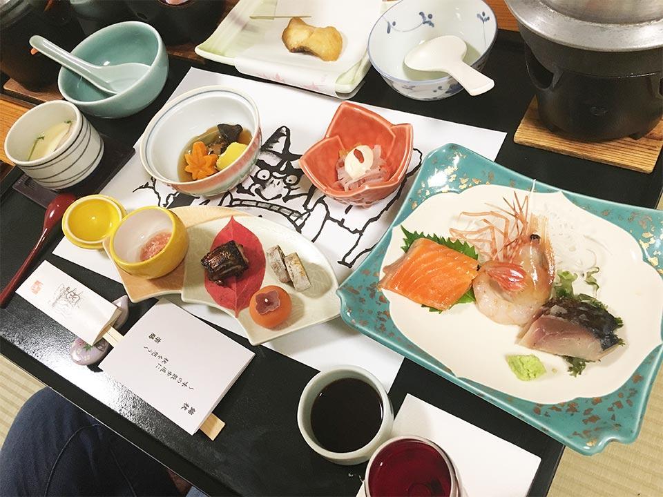 ホテルゆもと登別お部屋食_夕食