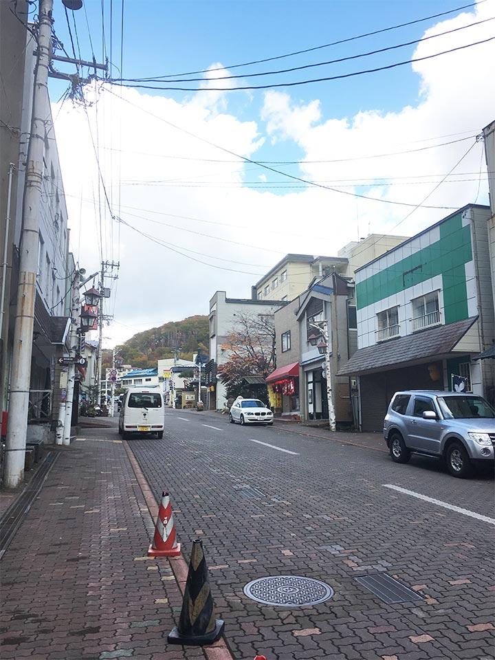 登別温泉ターミナルメインストリート