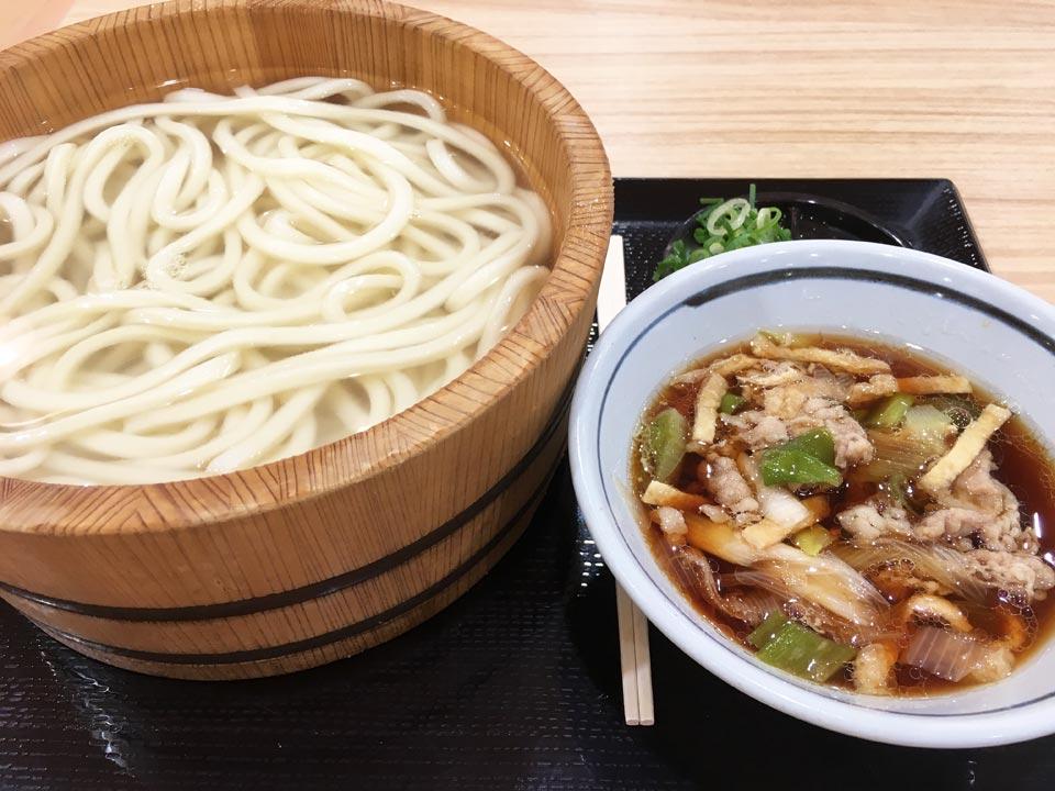 丸亀製麺肉汁うどん