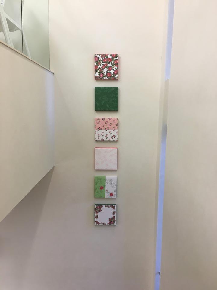 六花亭札幌店2階から1階への階段