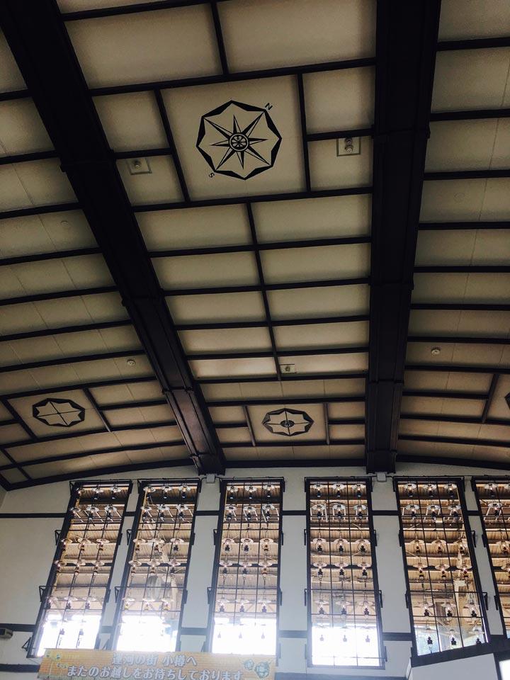 小樽駅駅舎エキナカ天井