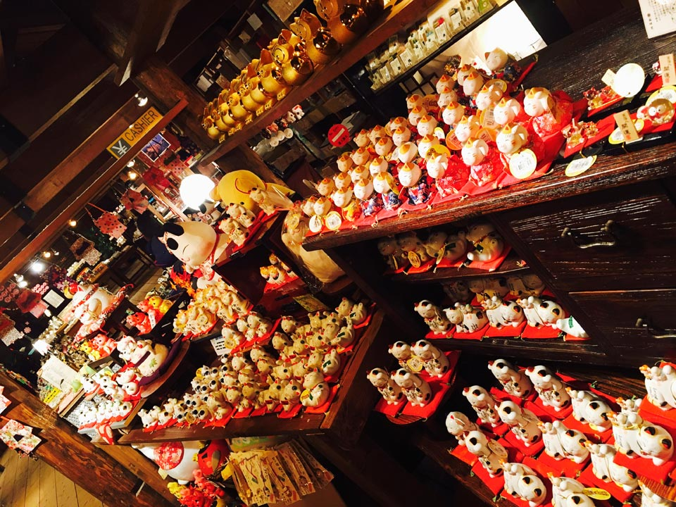 店内小樽オルゴール堂