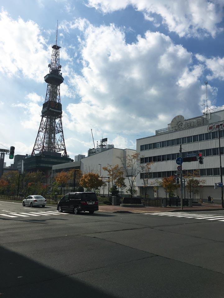 さっぽろテレビ塔とNHK