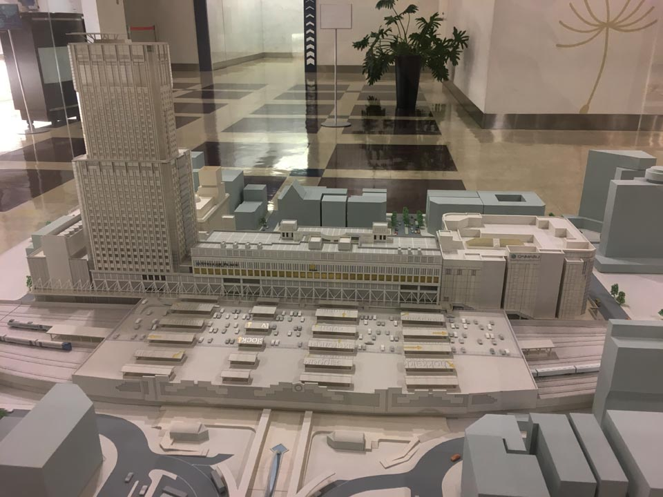 模型札幌JRタワー展望室T38