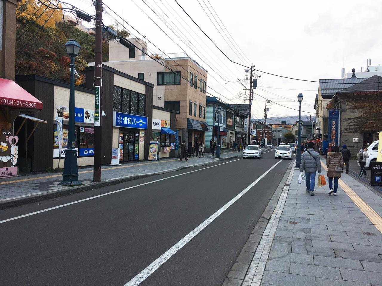 小樽の街並み小樽街歩き