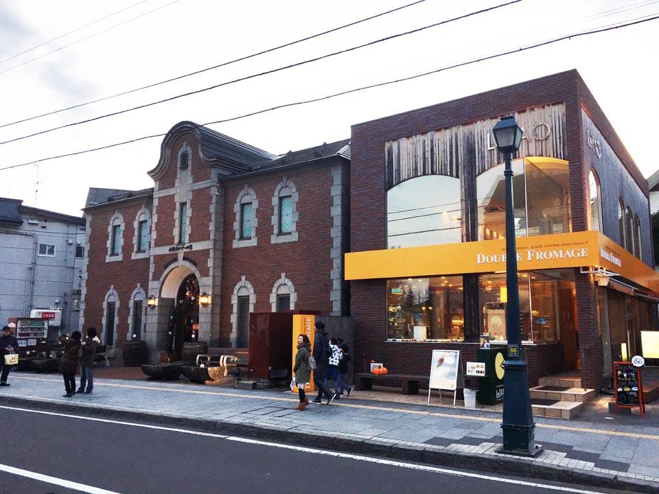 ドゥーブル・フロマージュルタオ小樽街歩き