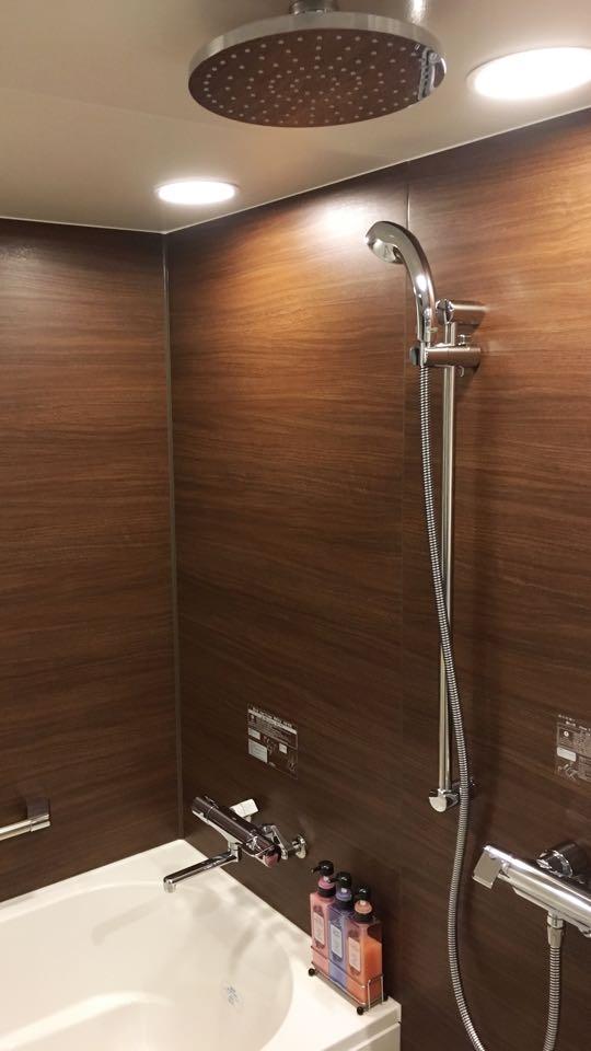 レインシャワー浴室トイレ別_ダイワロイネットホテル_daiwa roynet hotel