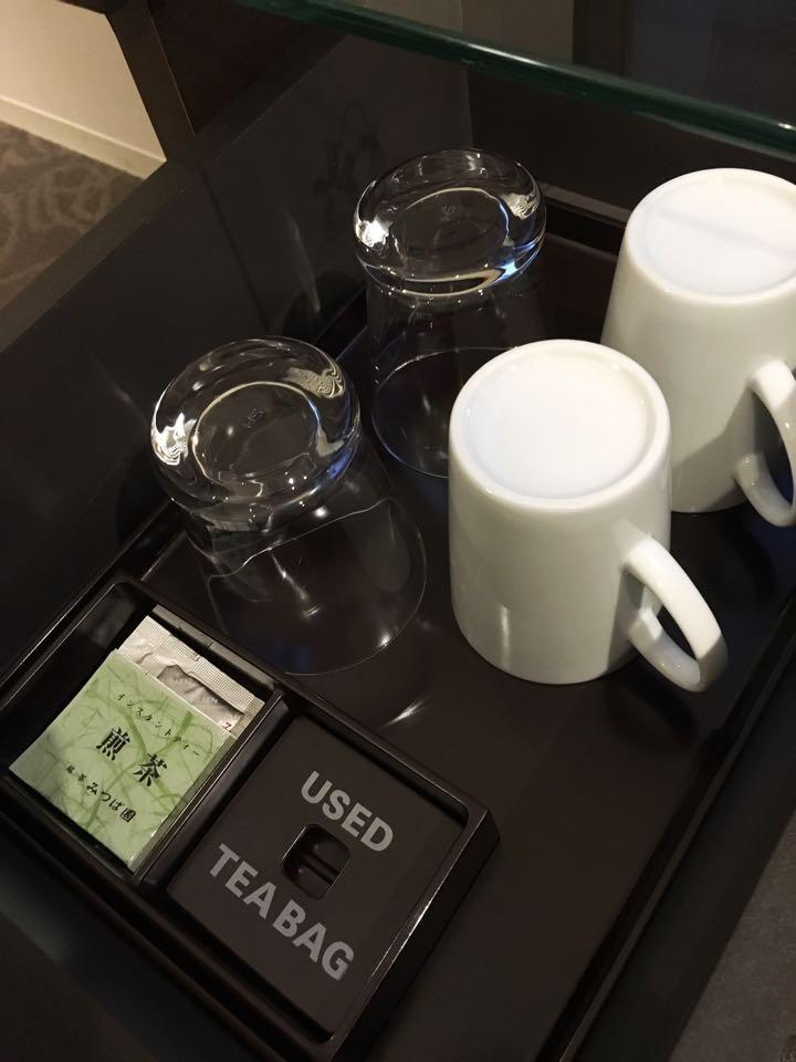 カップとグラス_ダイワロイネットホテル_daiwa roynet hotel