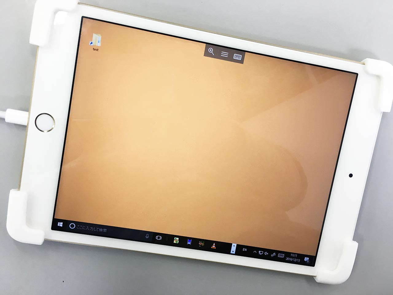 iPad mini 4 リモートデスクトップ