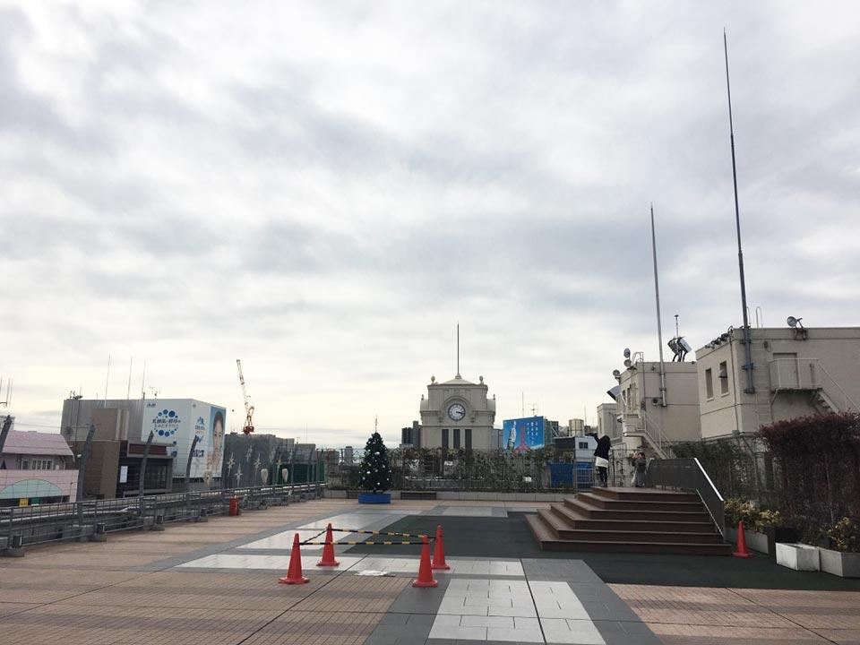 エキミセ浅草ハレテラス_屋上階風景