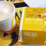 さようなら… クォーターパウンダー・チーズ、ダブルクォーターパウンダー・チーズ