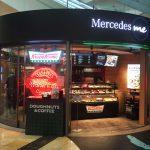"""羽田空港第2旅客ターミナル内に """"Mercedes me"""" というスペースを発見!"""