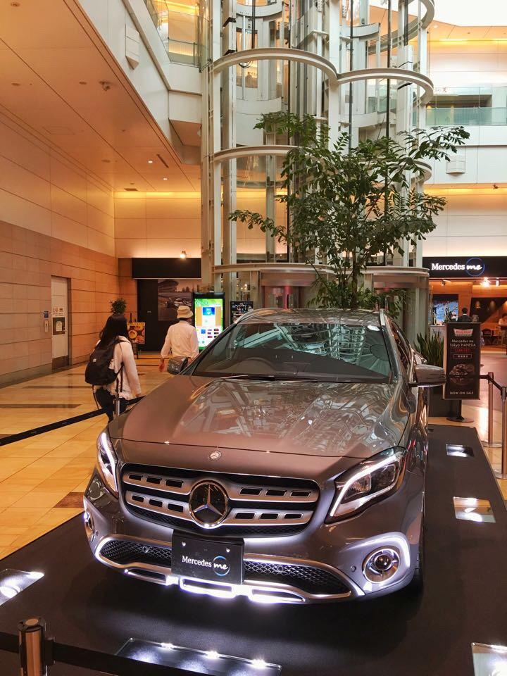 Mercedes me 羽田