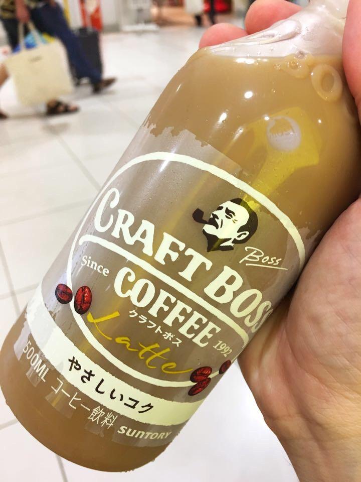 サントリー SUNTORY COFEE CRAFT BOSS Latte(クラフトボス ラテ)