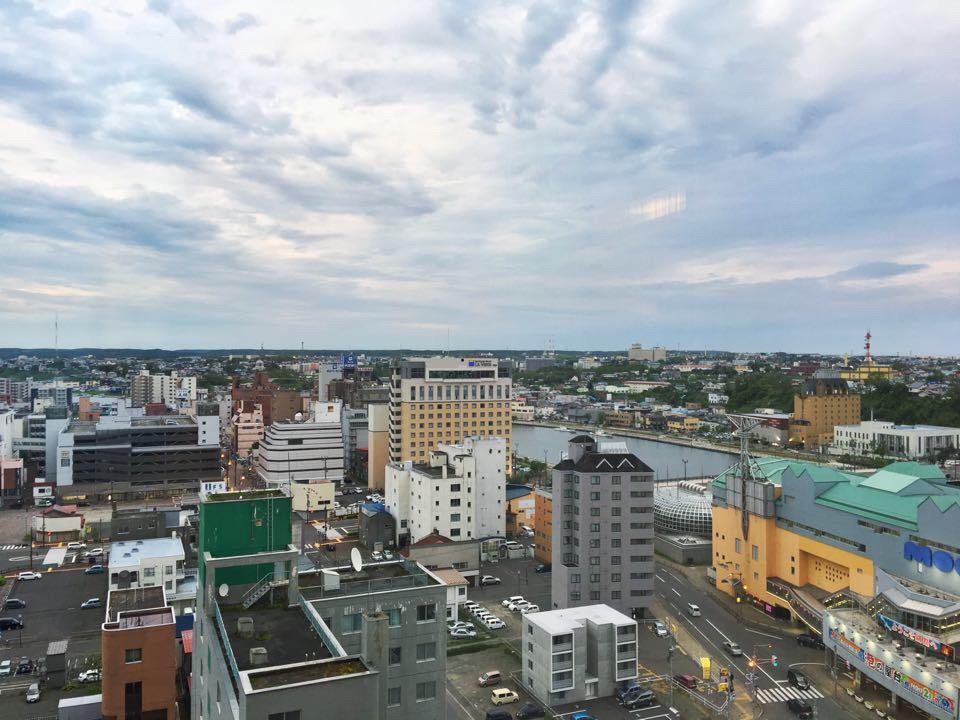 ANAクラウンプラザホテル釧路_部屋からの風景_南東