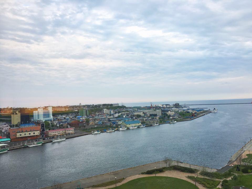 ANAクラウンプラザホテル釧路_部屋からの風景_南西