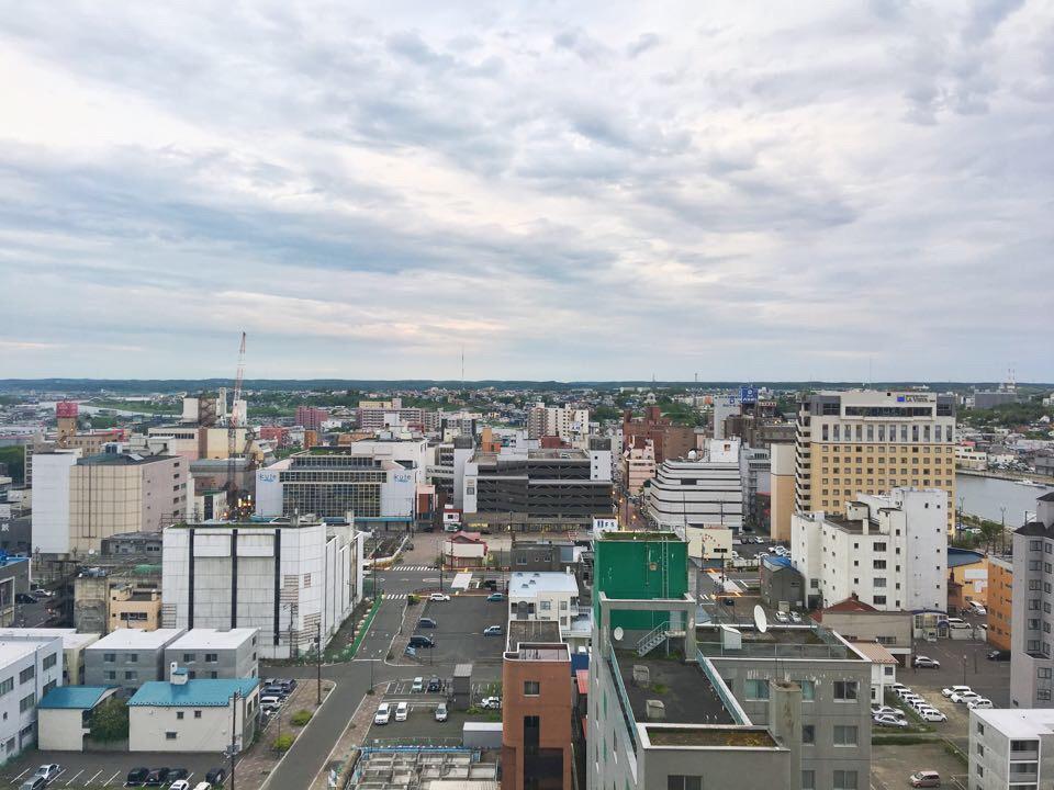ANAクラウンプラザホテル釧路_部屋からの風景_北