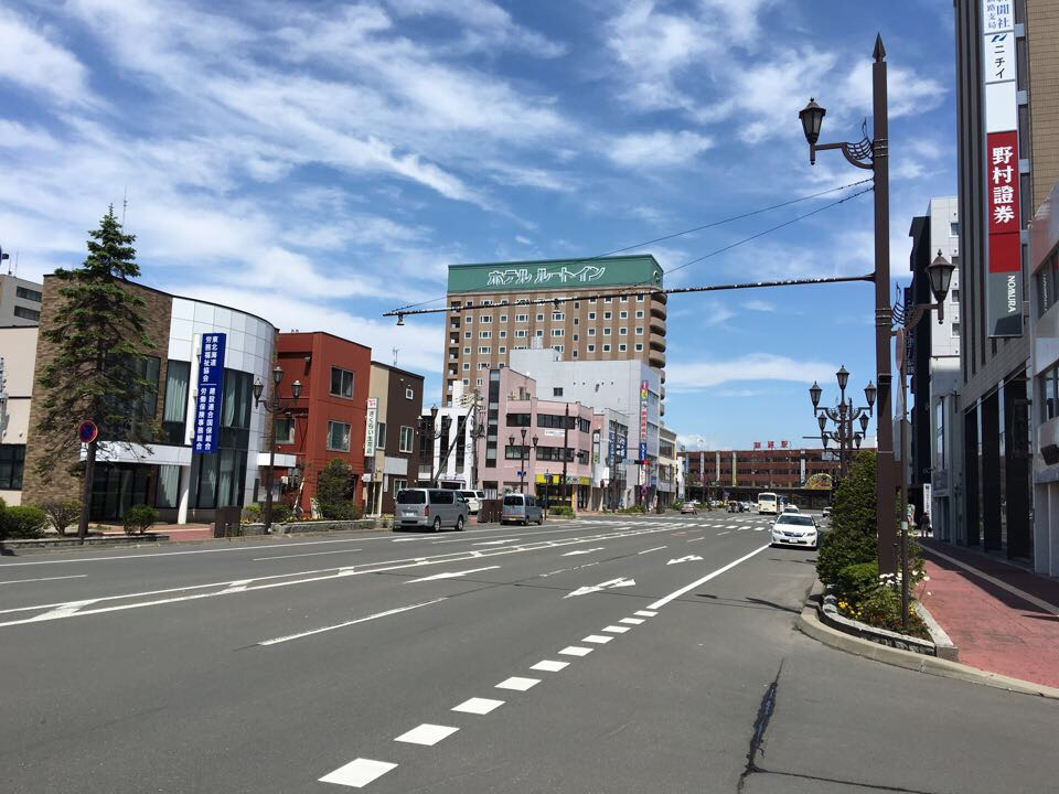 釧路_釧路駅前メインストリート