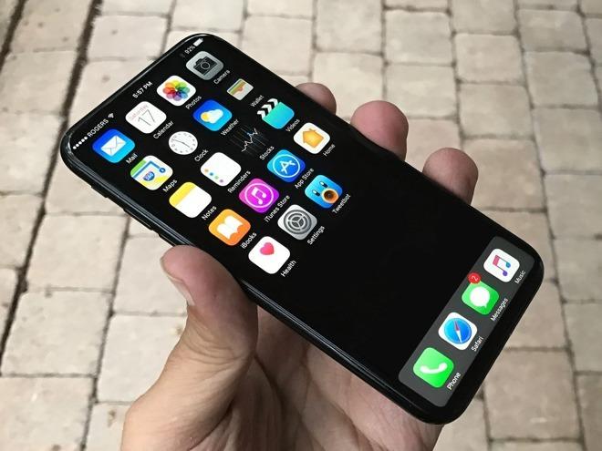iPhone8コンセプト画像(出典Apple Insider)